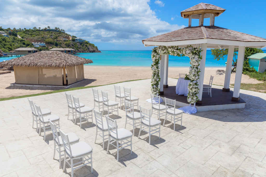 Royalton Antigua Gazebo Wedding